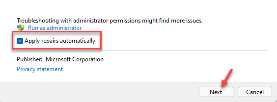Windows Media Player Settings Apply Repairs Automatically Next