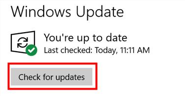 Windows Update Check For Updates Min