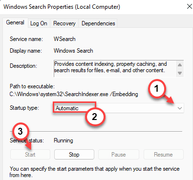 Automatic Windows Search Services Windows 11 Min