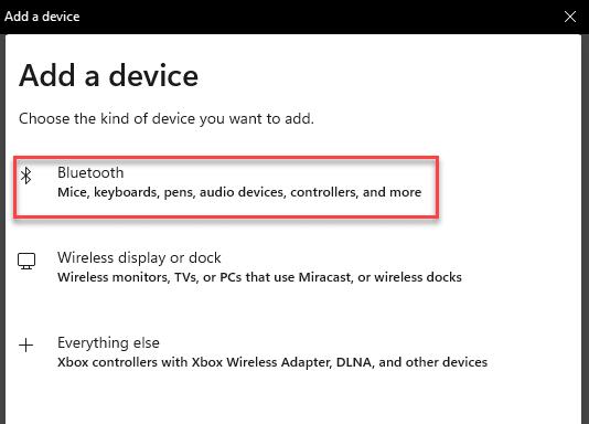 Bluetooth Min