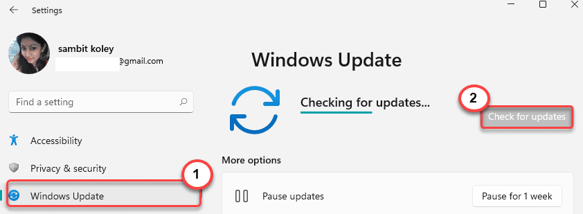 Check For Updates Windows 11 Min