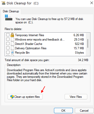 Clean Up System Files 1 Min