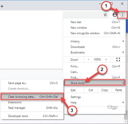 Clear Browsing Data Min Min