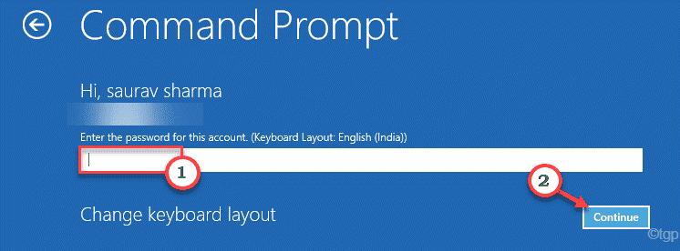 Command Prompt Startup Repair Options Enter Password Min