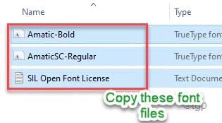 Copy Font Files Min