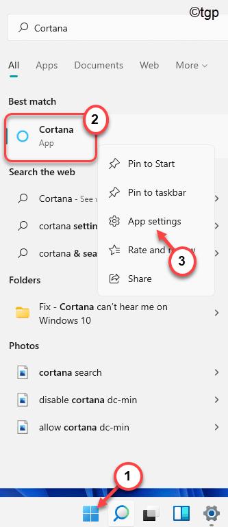 Cortana App Settings Min