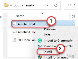 Font Install Min