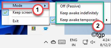 Mode And Keep Awake Min