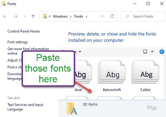 Paste The Fonts Min