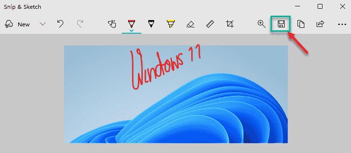 Save Windows 11 Min