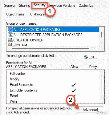 Security Advanced Windows Universal Min
