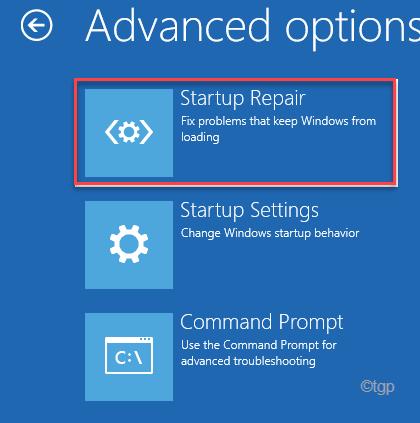 Startup Repair Automatic Repair