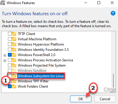 Windows Sub System Linux Disable Min