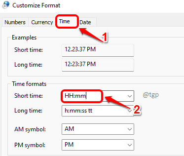 12 Time Format Optimized