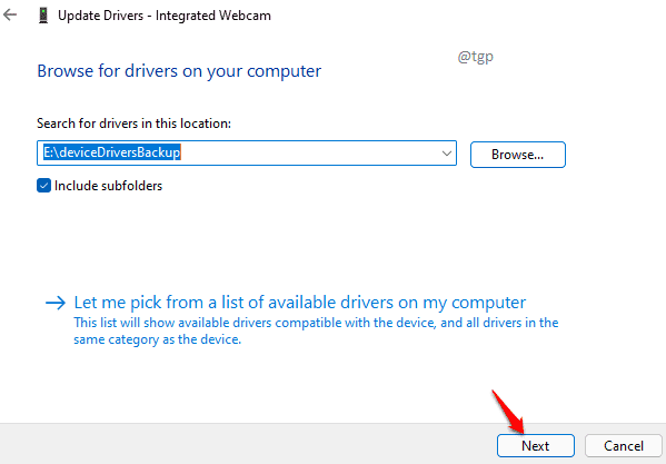 17 Select Folder Next Optimized