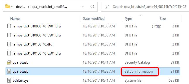 21 Setup Information File Optimized