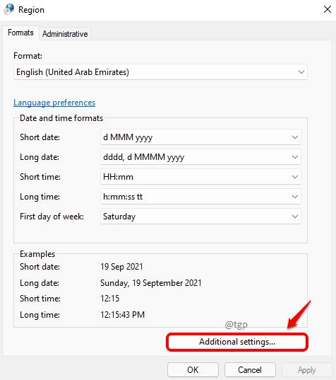 8 Additional Settings Optimized