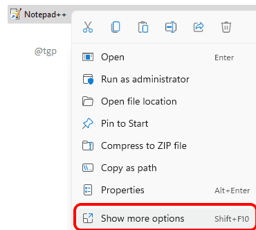 8 Show More Options Optimized