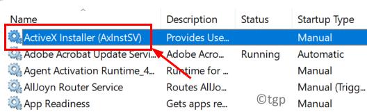 Activex Service Min