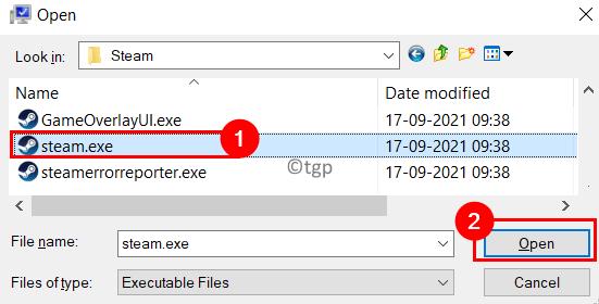 Add Steam Performance Options Min