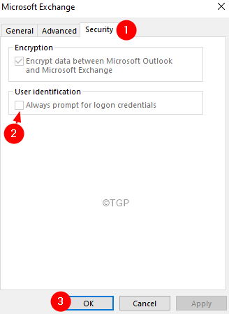 Always Prompt For Logon Credentials
