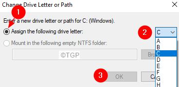 Assign Letter