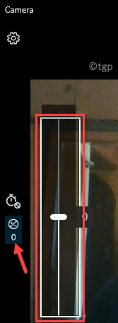 Camera Pro Mode Left Side Brightness Icon Move Slider To Adjust Min