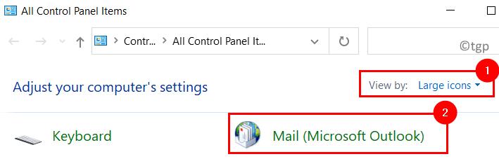 Control Panel Mail Min