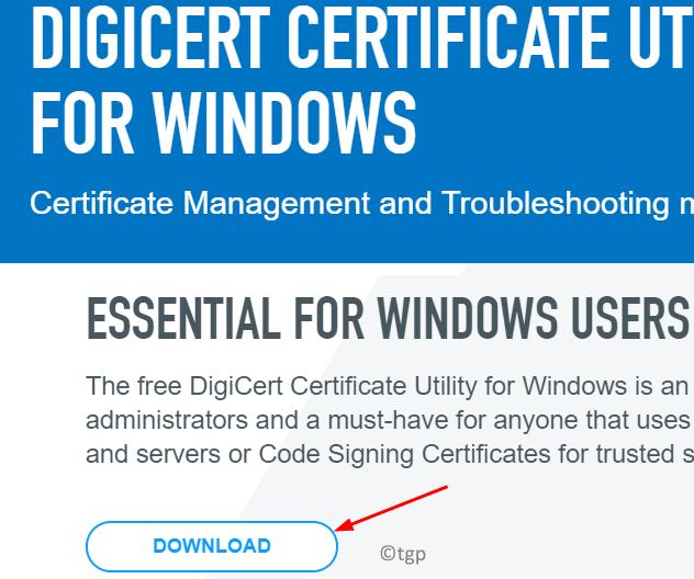 Digicert Download Min