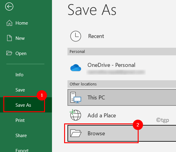Excel File Save As Min