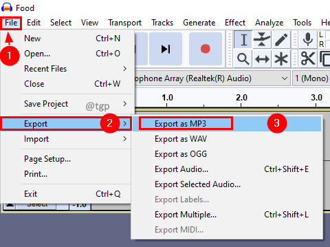 Export File Min