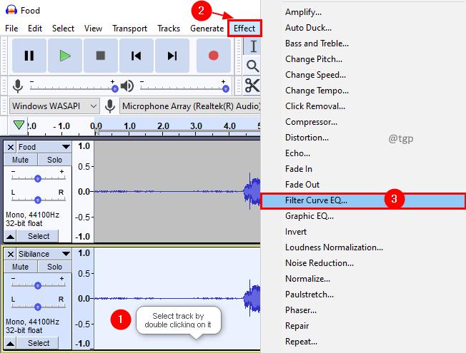 Filter Curve 2 Min