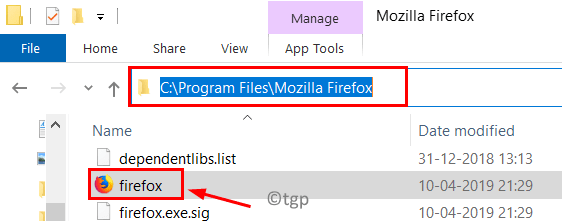 Firefox App Path Min