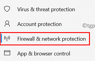 Firewall Network Protection Min
