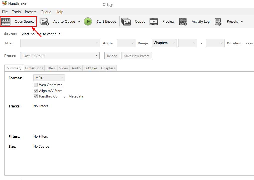 Handbrake Click Open Source Min