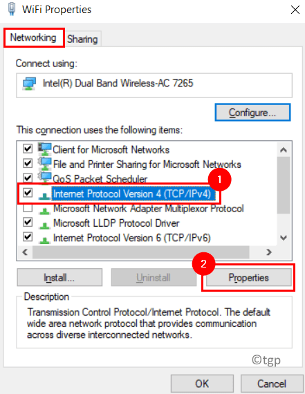 Internet Options Ipv4 Min