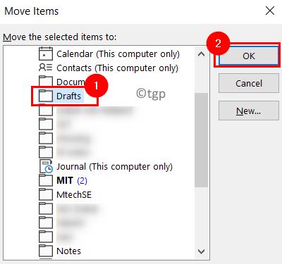 Movr Items To Drafts Folder Min