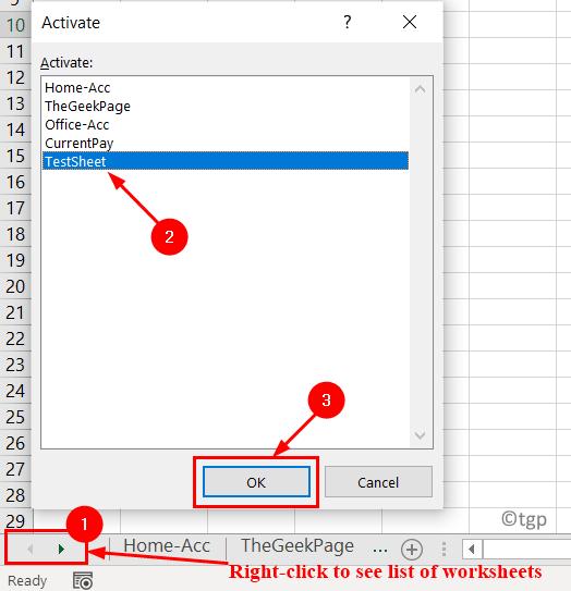 Navigation Arrow Click To Select Sheet Min