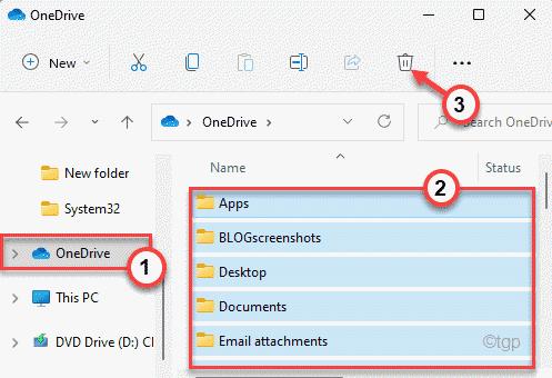 Onedrive Select Folder Min