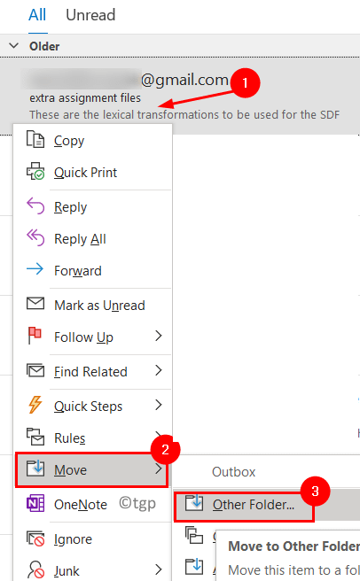Outbox Move To Other Folder Min