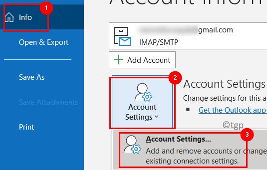 Outlook Account Settings Min