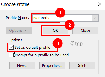 Outlook Choose Profile Min