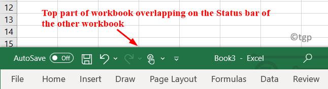 Overlapping Workbooks Min