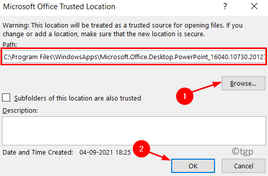 Ppt Microsoft Office Trusted Locations Min