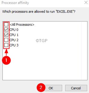 Procesor Affinity