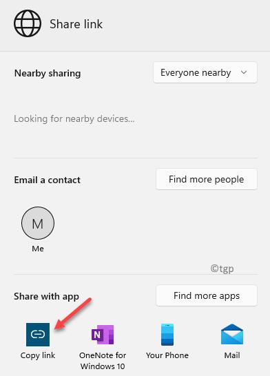 Share Link Bottom Left Copy Link Min