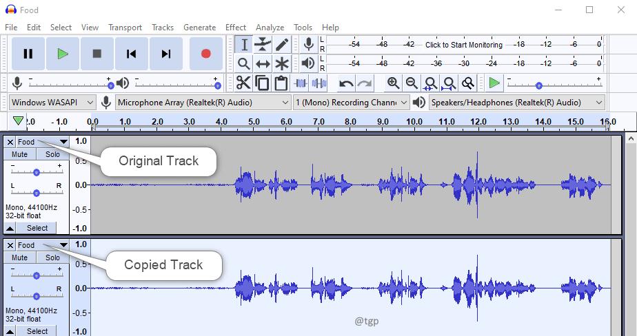 Two Tracks Min