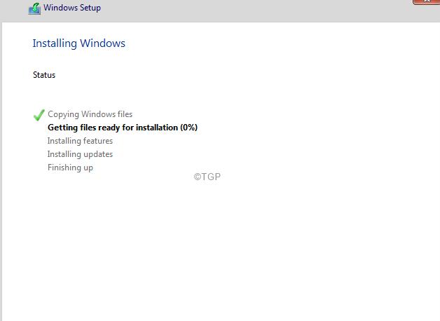 Windows Installing