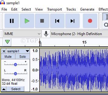 Aac Audio File Audacity
