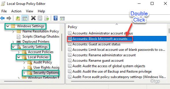 Accounts Block Dc Min